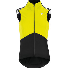 assos Mille GT Spring Fall Airblock Vest Men fluo yellow